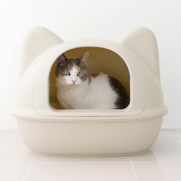 ICat 아이 캣 원래 고양이 형 화장실 국자가