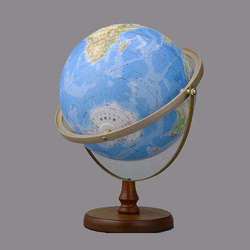 帝国書院 地球儀 N26-6R (地勢・全方位回転)