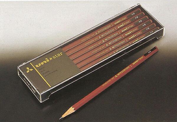 ◆ Mitsubishi pencil uni ★ star Unister 2B