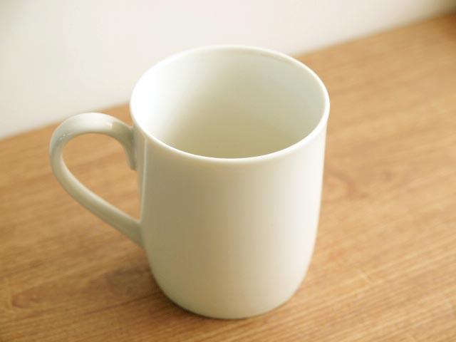 本当にシンプルなマグカップです シンプルマグカップ 超激安 アイボリー いつでも送料無料