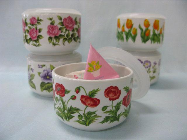 可愛い花柄が5パターンあります セットアップ 定番キャンバス フローラル ミニミニストッカー 1個 ポピー