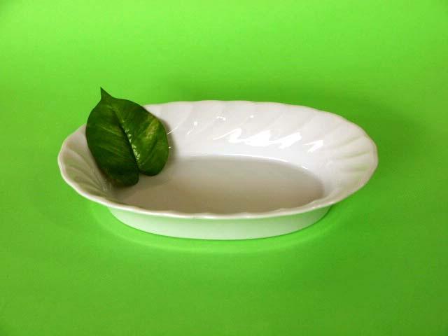 人気の白い食器 ホワイトキャロルグラタン皿1個 限定価格セール 訳あり品送料無料