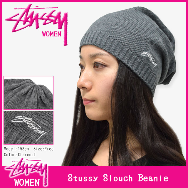 Stussy STUSSY Womens Stussy Slouch Beanie (stussy beanie knit hats girls  ladies Womens ladies ladies ladies Ladys WOMENS Dancewear 232055 Stussy  stussy ... 822d25f01ad
