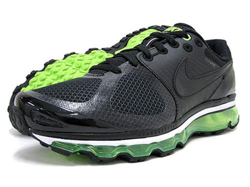 Nike Air Max 2010 Noir Vert Électrique sites Internet confortable à vendre jsqvxvYdwA