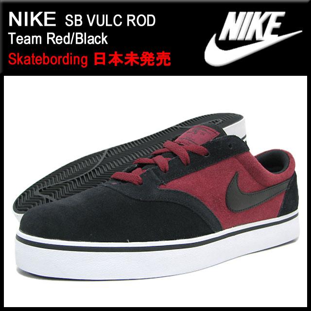 0ba5899de29 Nike NIKE sneakers SB Barca Rod Team Red Black skateboarding men (men s) (nike  SB VULC ROD Skatebording 429530-602) ice filed icefield