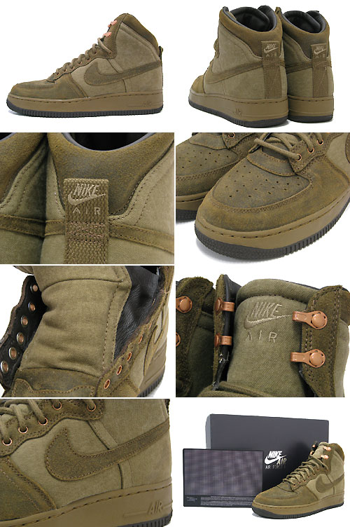 Raw Sneakers Force Umber Ex Nike Menmen'snike 1 Boot Air Military Boots Anniversary Hi 30 Deconstruct WYE2IDH9