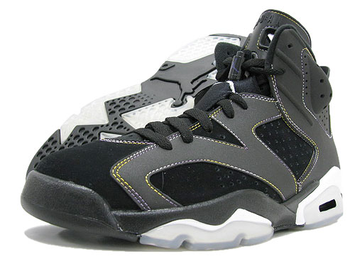 info for e1394 0cccf NIKE (Nike) AIR JORDAN 6 RETRO Black/Purple-White Lakers ice filed icefield