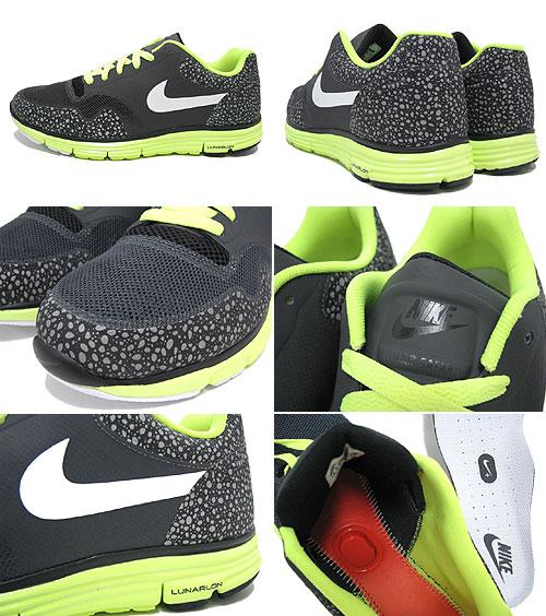 Nike NIKE sneakers Luna Safari fuses plus Anthracite White Volt Black  limited edition men s (men s) (nike LUNAR SAFARI FUSE + Limited 525059-013)  ice filed ... 825c057d9978