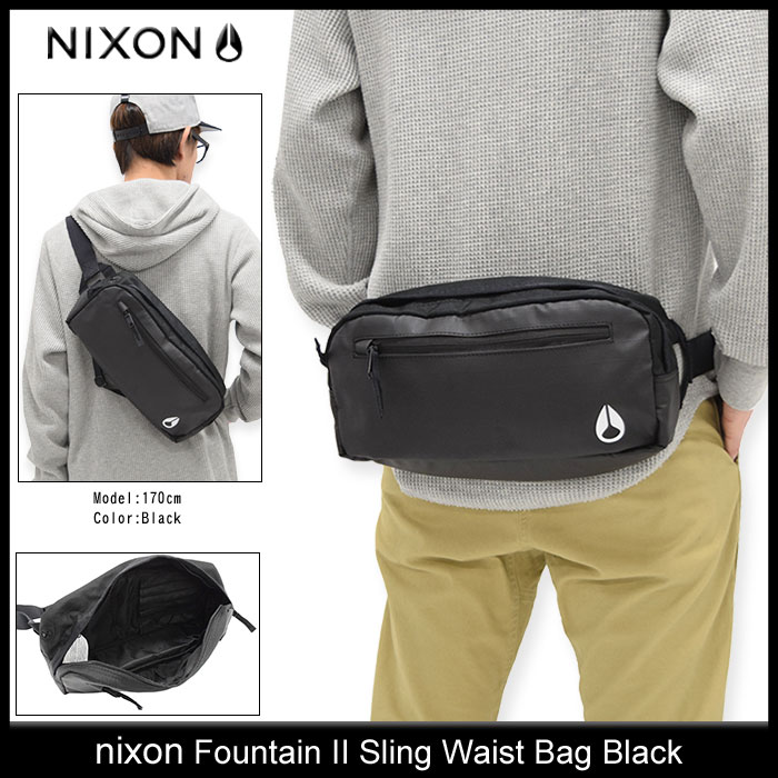 2 Nixon nixon Fountain sling bum-bag (nixon Fountain II Sling Waist Bag waist porch men & Lady's unisex man and woman combined use NC1957) ice filed icefield