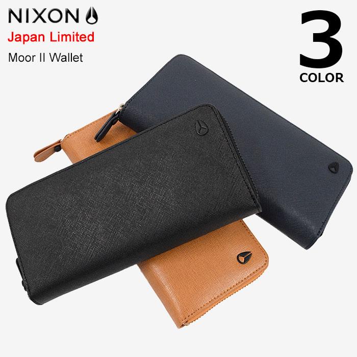 ニクソン nixon 財布 ムーア 2 ウォレット 日本限定(nixon Moor II Wallet Japan Limited 長財布 ロングウォレット ファスナー メンズ 男性用 NC2726)