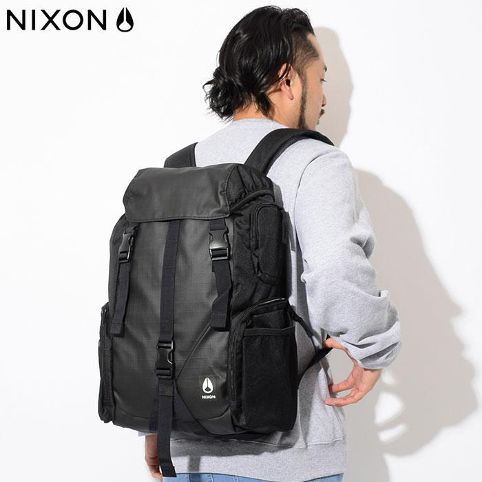 ニクソン nixon リュック ウォーターロック 3 バックパック ブラック(nixon Waterlock III Backpack Black Bag バッグ Daypack デイパック 普段使い 通勤 通学 旅行 メンズ レディース ユニセックス 男女兼用 NC2812000)