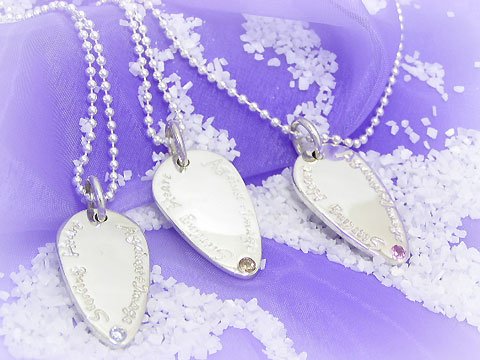 AGAINST÷IMAGE(アゲインスト÷イメージ) AIP-105 Silver Necklace ice filed icefield