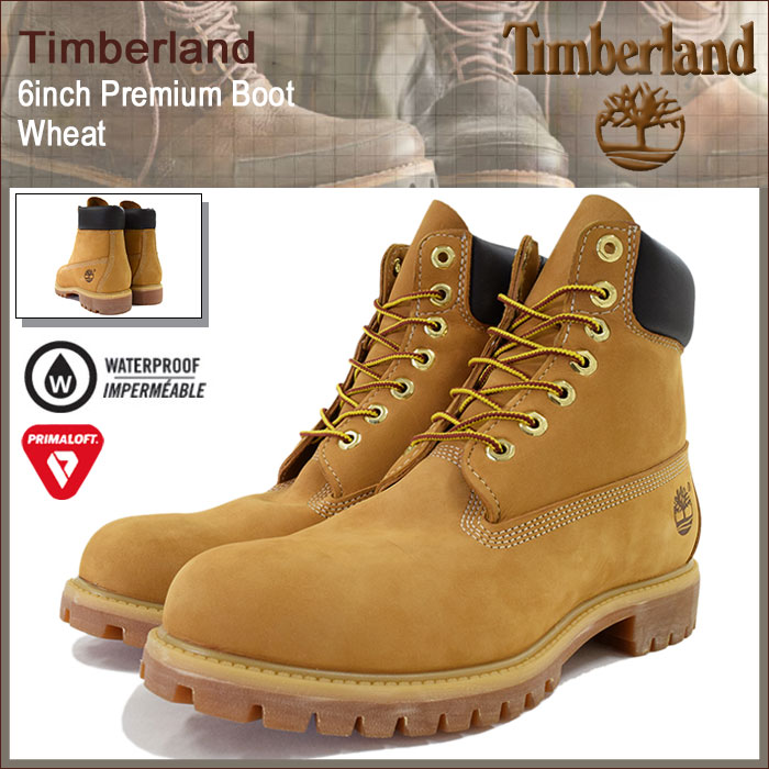 Timberland boots Timberland 6 inch premium Wheaton back (Timberland  timberland TIMBERLAND timber 10061-6inch Boot Wheat yellow waterproof  classic mens shoes ...