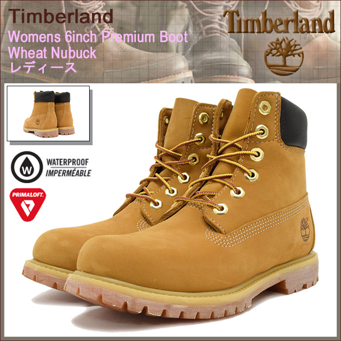 激安超安値 【日本正規品】ティンバーランド Timberland ブーツ ウィメンズ 防水 LADYS・靴 6インチ プレミアム ウィート ヌバック(timberland Wheat 10361 Womens 6inch Premium Boot Wheat Nubuck イエロー 防水 定番 シックスインチ 女性用 LADYS・靴 レディース靴), ミヨシムラ:1f61e11b --- supercanaltv.zonalivresh.dominiotemporario.com