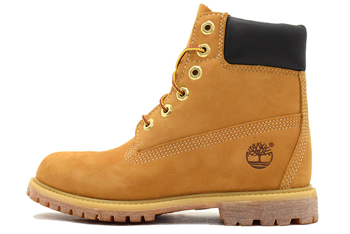 Timberland Timberland Womens boots オーセンティックス roll top wheat polka dots (timberland Womens ROLL TOP