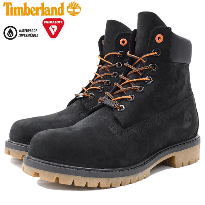 【日本正規品】ティンバーランド Timberland ブーツ メンズ 男性用 6インチ プレミアム Black Nubuck(timberland A1U7M 6inch Premium Boot ブラック 黒 防水 男性 紳士用 MENS・靴 メンズ靴)
