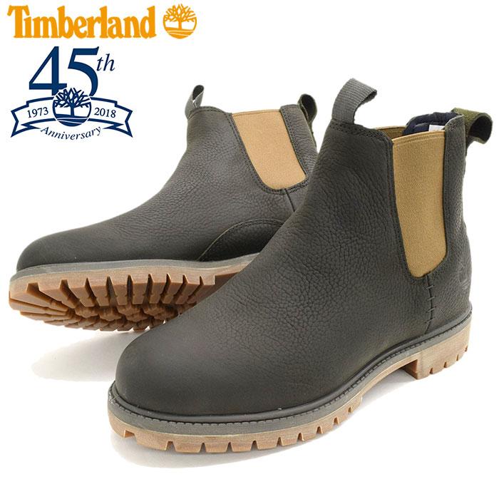 【日本正規品】ティンバーランド Timberland ブーツ メンズ 男性用 6インチ プレミアム チェルシー Dark Green Full Grain(timberland A1UIB 6inch Premium Chelsea 45th Anniversary 45周年 サイドゴア 男性 紳士用 MENS・靴 メンズ靴) ice filed icefield