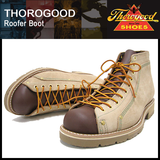 Ice Field Solo Good Thorogood Rufer Boots Beige Suede