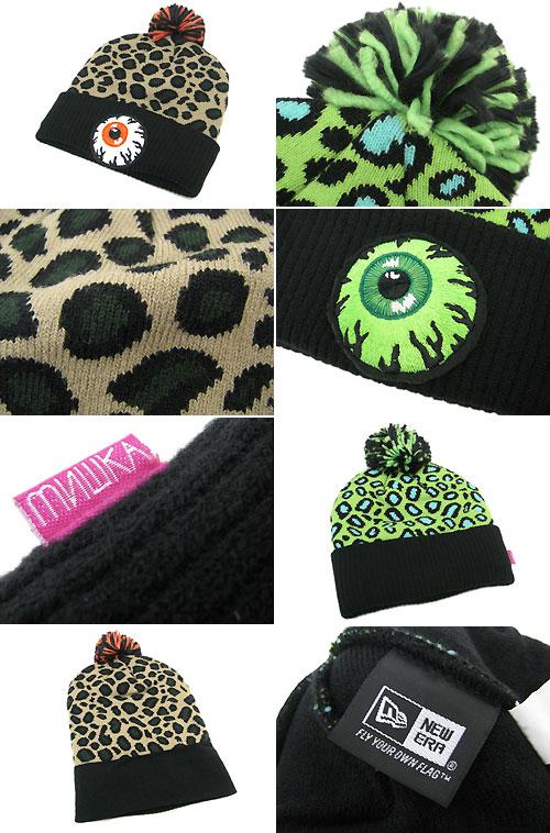 2d01f349bab Mishka MISHKA x new era Safari keep watch knit pimp Beanie collabo (mishka×NEW  ERA Safari Keep Watch Knit Pom Beanie knit Cap W name men s men s hats and  ...