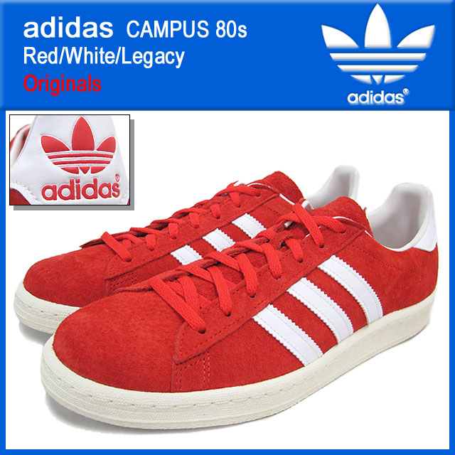 a4737778d5c Adidas adidas sneakers campus 80s Red White Legacy originals men (male  business) (adidas CAMPUS 80s Red White Legacy Originals Sneaker sneaker  SNEAKER MENS