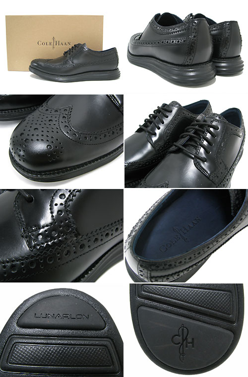 Cole Haan COLE HAAN X NIKE luna ground long wing black / black collaboration men (men's for men) (cole haan X nike LUNAR GRAND LONG WING Black/Black nike MENS, shoes men shoes shoes SHOES call Hahn co-- ルハ - ン C11717)