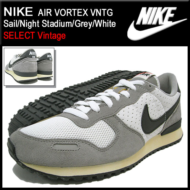 hot sales 4cc7d b06e4 Nike NIKE sneakers air Vortex vintage SailNight StadiumGreyWhite limited  edition mens (mens) (nike AIR VORTEX VNTG SELECT Vintage Sneaker sneaker  ...