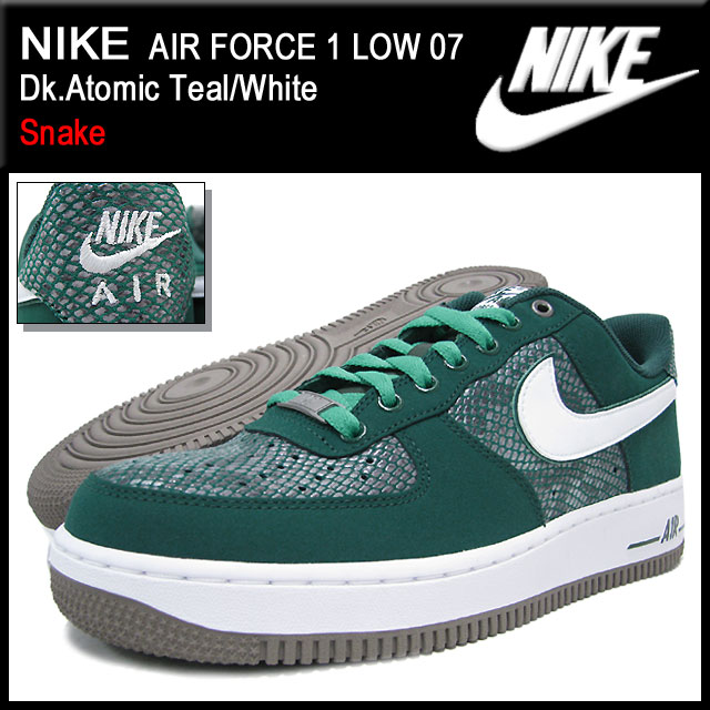 22528262e31603 Nike NIKE sneakers air force 1 low 07 ice filed icefield (nike AIR FORCE 1  LOW 07 Snake Sneaker sneaker SNEAKER MENS-shoes shoes SHOES sneaker 488298- 306) ...