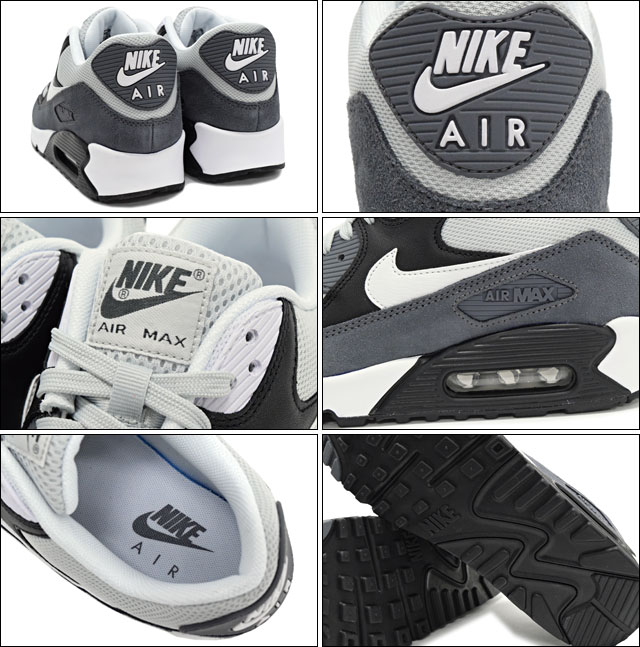 separation shoes 50212 9916d Nike NIKE sneakers Air Max 90 essential Grey Mist White Black Dark Grey  limited edition men s (men s) (ESSENTIAL ICONS Sneaker MENS, nike AIR MAX 90 -shoes ...
