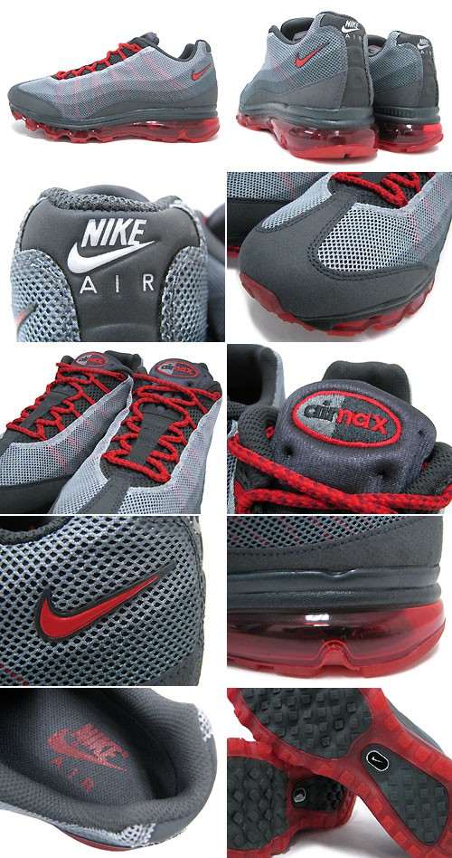 on sale 81a2d 81f18 Nike NIKE sneakers Air Max 95 DYN FW Anthracite University Red Grey  qualified men (men s) (nike AIR MAX 95 DYN FW EX Sneaker sneaker SNEAKER  MENS-shoes ...