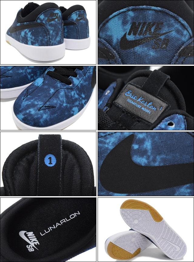 Nike NIKE sneakers Eric Coston SE Blue Lagoon/Black/White SB-men (men's) (nike  ERIC KOSTON SE SB Sneaker sneaker SNEAKER MENS-shoes shoes SHOES sneaker ...