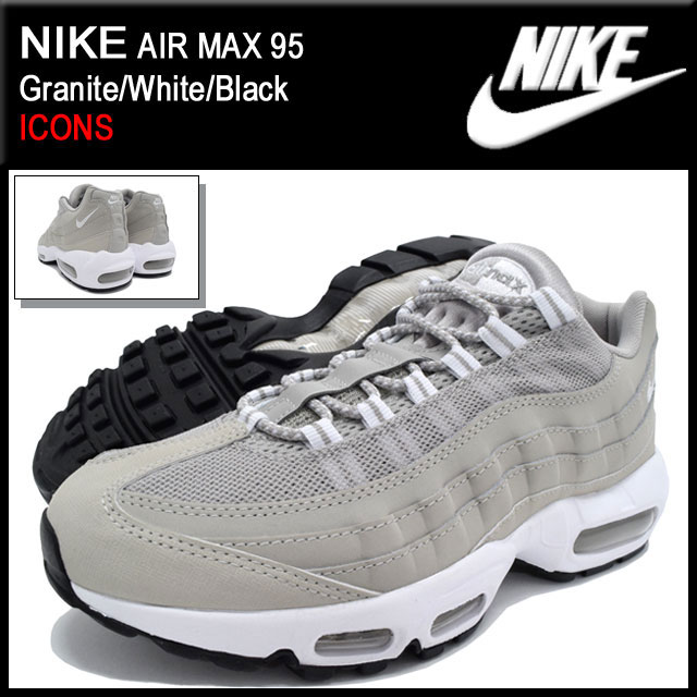 d2c0792fb7a Nike NIKE sneakers Air Max 95 Neutral Grey Black Cool Grey men s limited  edition (men s) (nike AIR MAX 95 ICONS Sneaker sneaker SNEAKER MENS-shoes  shoes ...