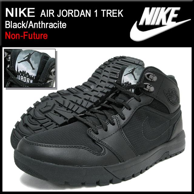 release date: de865 38b56 Nike NIKE sneakers Air Jordan 1 Trek Black Anthracite men (men s) (nike AIR  JORDAN 1 TREK Black Anthracite Non-Future Sneaker sneaker SNEAKER  MENS-shoes ...