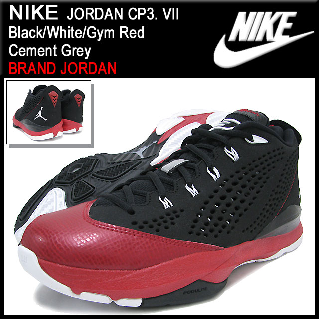 9c0c6b65db3fca Nike NIKE sneakers Jordan CP3. 7 Black White Gym Red Cement Grey men (men s)  (nike JORDAN CP3. VII BRAND JORDAN Sneaker sneaker SNEAKER MENS-shoes shoes  ...