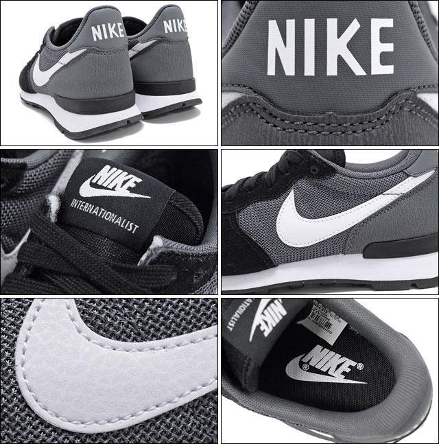 Nike NIKE sneakers Womens internationalist Black White Dark Grey-Womens  (for women) (nike WMNS INTERNATIONALIST Sneaker sneaker SNEAKER LADIES-shoes  shoes ... 3a7510ce2