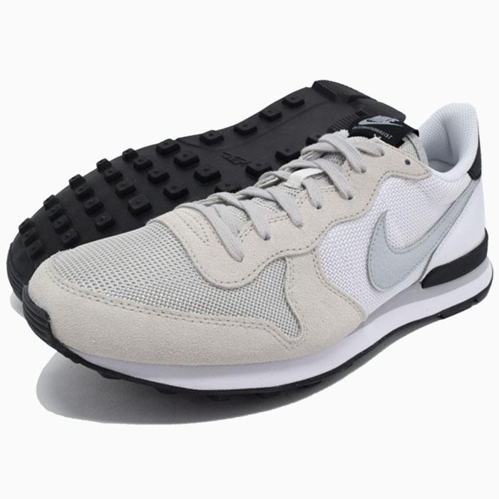 nike internationalist light bone grey mist white black