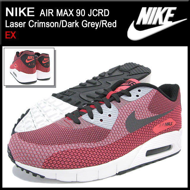 buy online e0cb1 2caa6 Nike NIKE sneakers Air Max 90 Laser Crimson Dark Grey Red JCRD men s  limited edition (men s) (nike AIR MAX 90 JCRD EX Sneaker sneaker SNEAKER  MENS-shoes ...