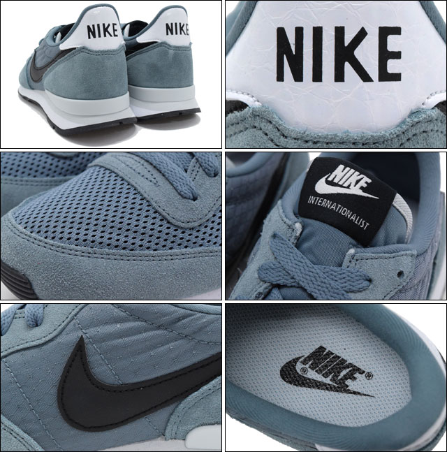 best service 42125 998e5 ... best price nike nike sneakers international list graphite black pure  platinum blue mens mens nike internationalist