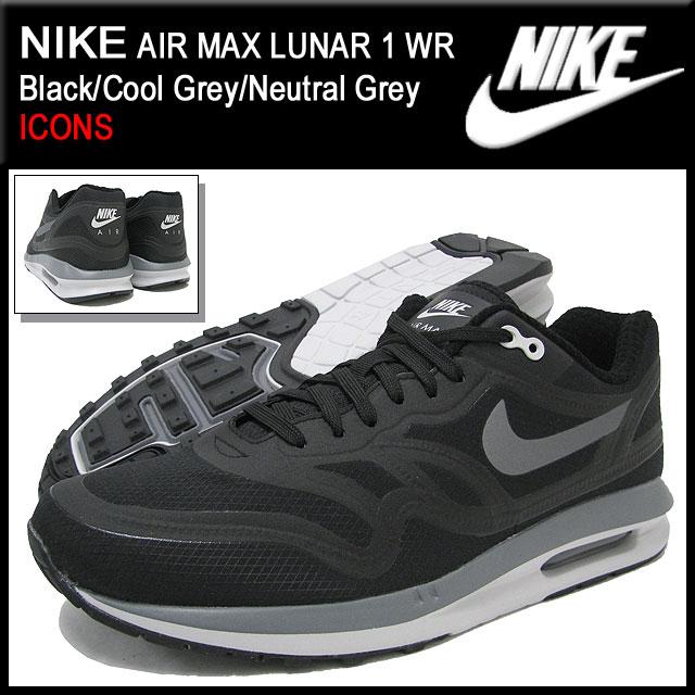 a1596326ba ... Nike NIKE sneakers Air Max Luna 1 WR Black/Cool Grey/Neutral Grey men's  ...