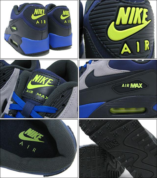Nike NIKE sneakers Air Max 90 winter premium Blue RecallDark ObsidianFlat Silver limited edition men's (men's) (nike AIR MAX 90 WINTER PREMIUM ICONS