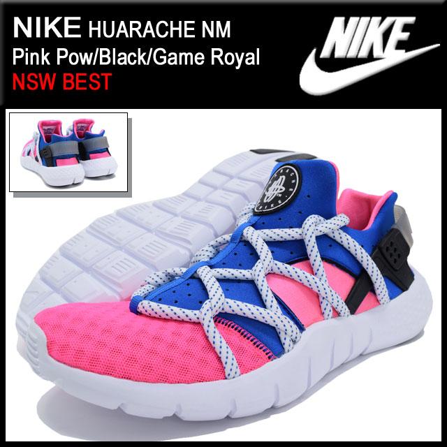 low priced 306c7 2b5fe Nike NIKE sneakers harach NM Pink Pow Black Game Royal limited-men (men s) (nike  HUARACHE NM NSW BEST Sneaker sneaker SNEAKER MENS-shoes shoes SHOES sneaker  ...