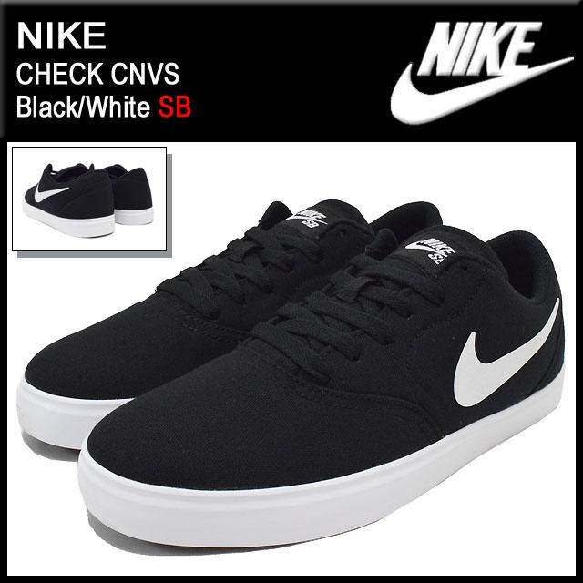 Ice Field Nike Nike Sneakers Check Canvas Black White Sb Men Men S