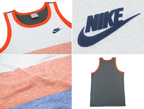 fd5ee0e7d0c65b ice field  Nike NIKE RU retro stripe tank top (the men s men s tank ...