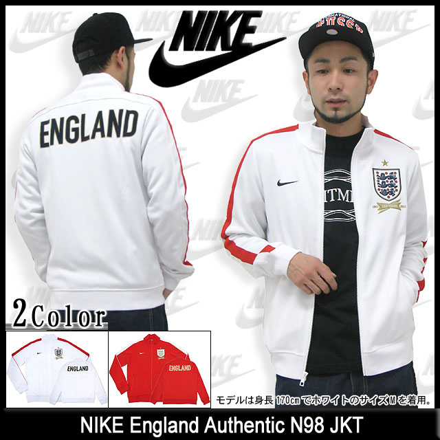 new styles 9ac14 b602e 597334) ice filed icefield for nike NIKE English authentic N98 jacket (nike  England Authentic N98 JKT JACKET JAKET outer jacket blouson full zip parka  men ...