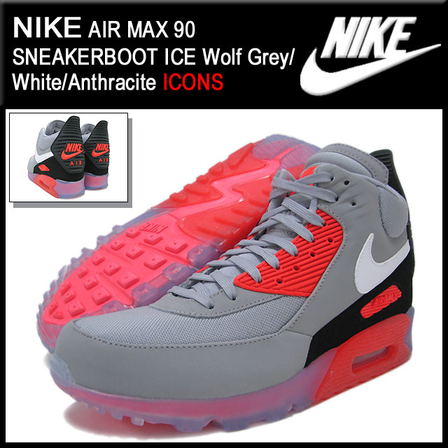 45122cde16 ... release date nike nike sneakers air max 90 sneaker boot ice wolf grey  white anthracite limited