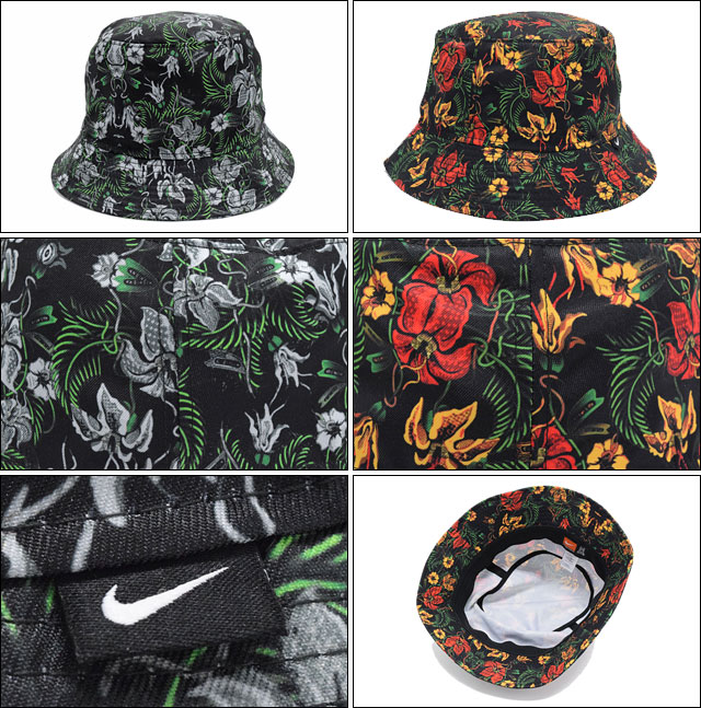 07a26905836 Nike NIKE floral bucket hat (the nike Floral Bucket Hat Hat Hat bousi mens  men s 724556) ice filed icefield