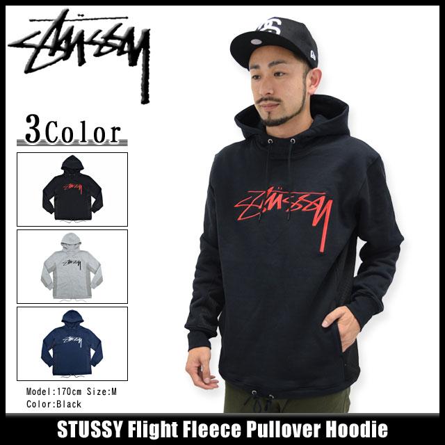 46d04ac0bc Stussy STUSSY pullover Hoodie men's Flight Fleece (stussy Pullover Hoodie  hood Hoody mens tops Parker Pull Over Hoody men's men's 118137 Stussy ...