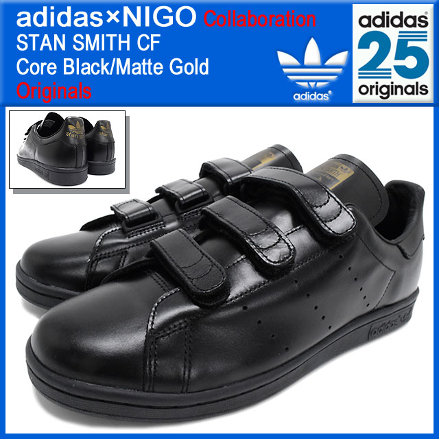 pretty nice 73579 6d1c8 ... get adidas originals x nigo adidas originals by nigo sneakers stan smith  comfort core black matte