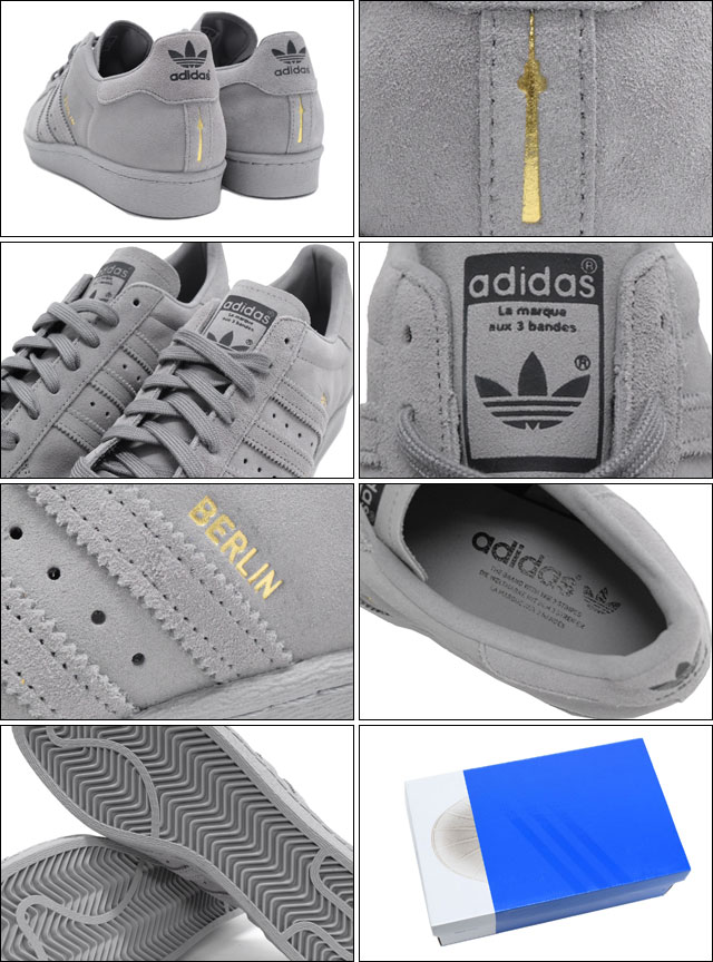 Berlin 50Off 49586 Adidas 6f278 All Grey Superstar mnvwN80
