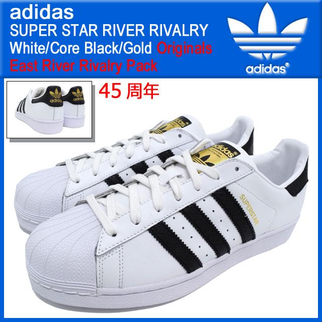 Adidas adidas sneakers Super Star River rivalry White/Core Black/Gold  originals men\u0027s (