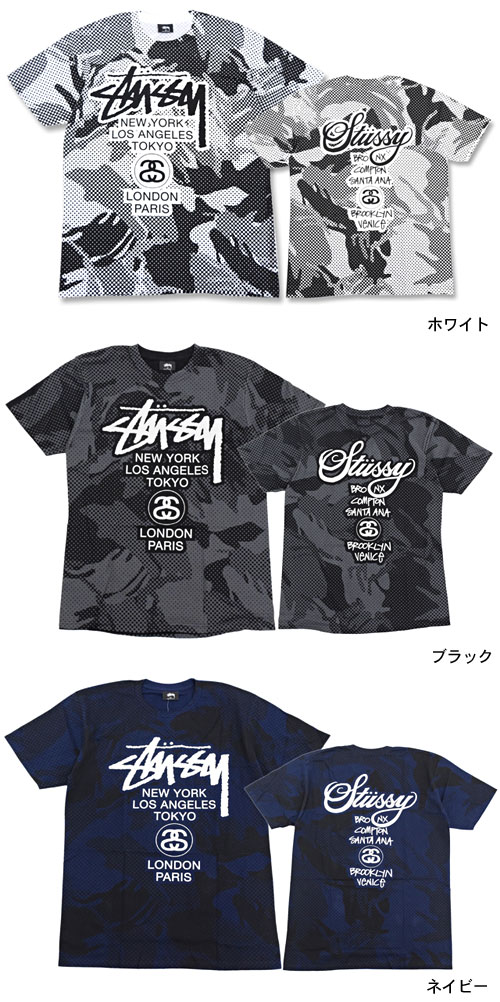 02a4c318 ... Stussy STUSSY Jungle WT T shirt short sleeve (stussy tee tee shirts T- SHIRTS ...